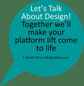 Contemporary platform lift