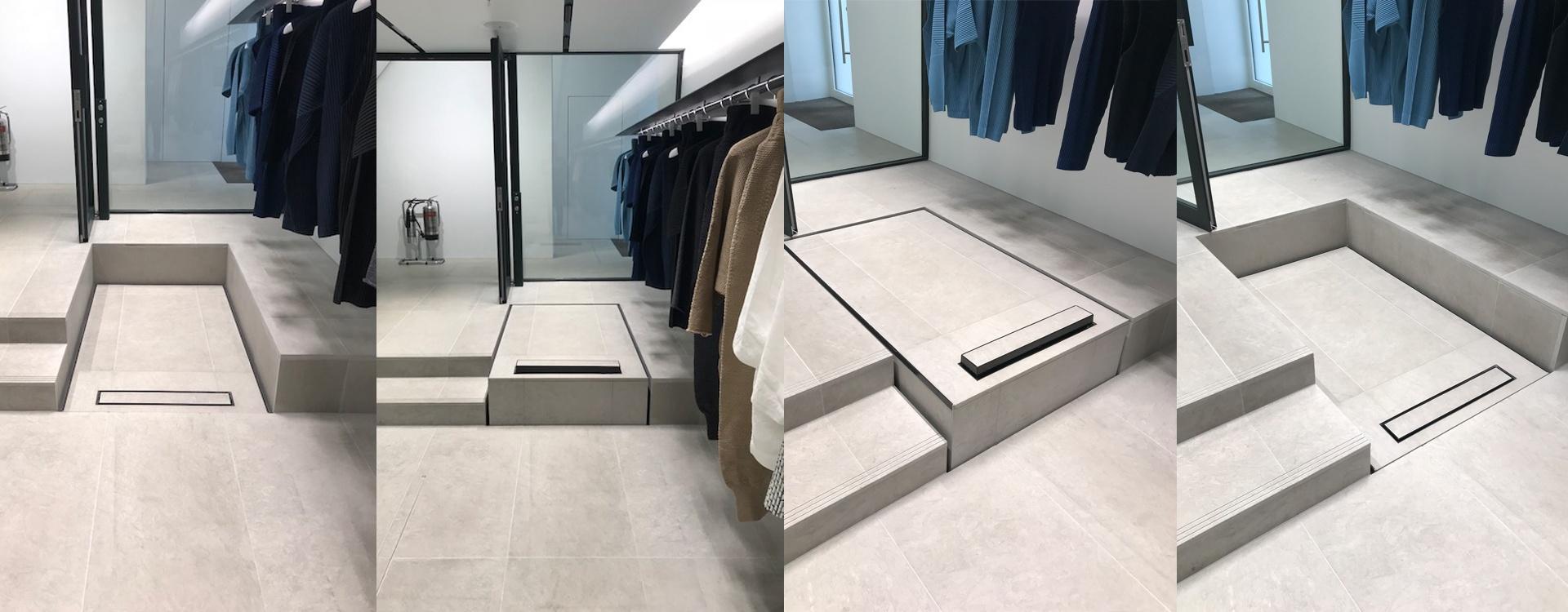 Hidden Step Lift