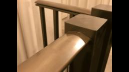 disabled access lift barrier