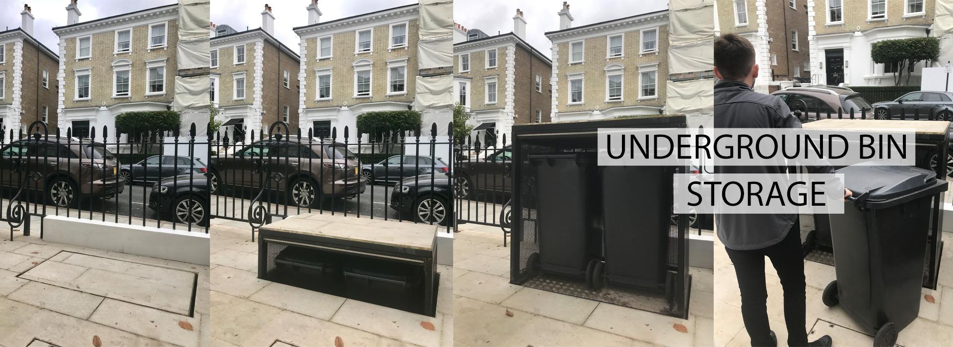 Underground Bin Storage