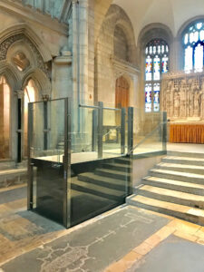 Disabled access Lift in Church