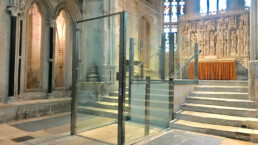 Disabled Access Wheelchair lift in heritage site