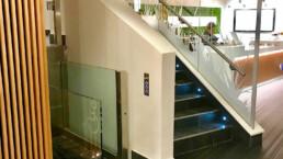 Glass Disabled access lift