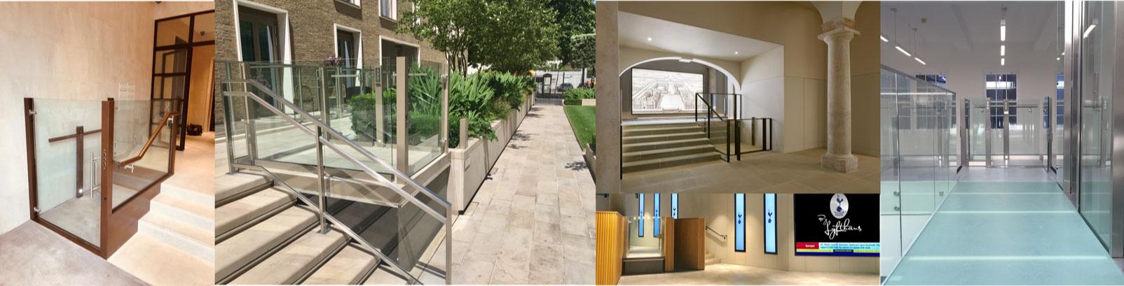 Bespoke modern wheelchair / disable access lifts