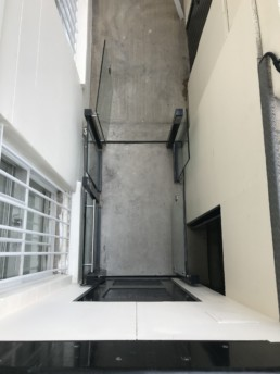 lightwell basements lift installation