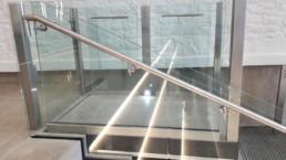 Glass Wheelchair Lift