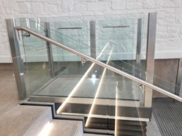 glass platform lifts london