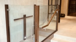 glass wheelchair lifts